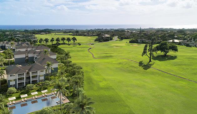 kauai vacation homes aerial image